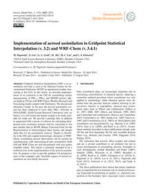 Implementation of Aerosol Assimilation i... by Pagowski, M.