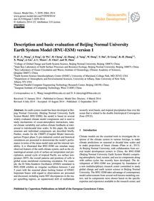 Description and Basic Evaluation of Beij... by Ji, D.