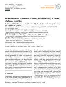 Development and Exploitation of a Contro... by Moine, M.-p.
