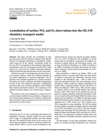 Assimilation of Surface No2 and O3 Obser... by Vira, J.