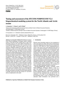 Tuning and Assessment of the Hycom-norwe... by Samuelsen, A.