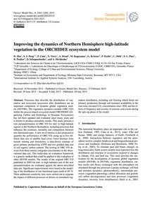 Improving the Dynamics of Northern Hemis... by Zhu, D.