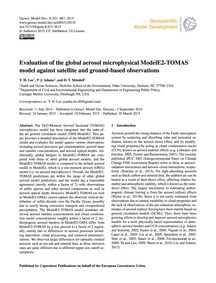Evaluation of the Global Aerosol Microph... by Lee, Y. H.