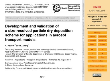 Development and Validation of a Size-res... by Petroff, A.