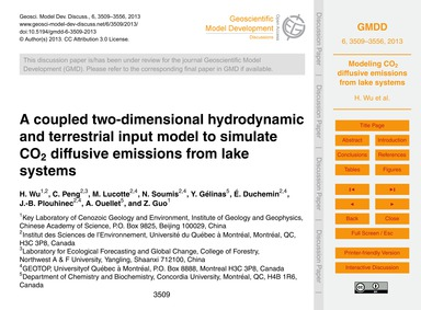 A Coupled Two-dimensional Hydrodynamic a... by Wu, H.