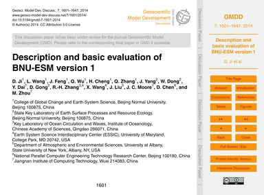 Description and Basic Evaluation of Bnu-... by Ji, D.