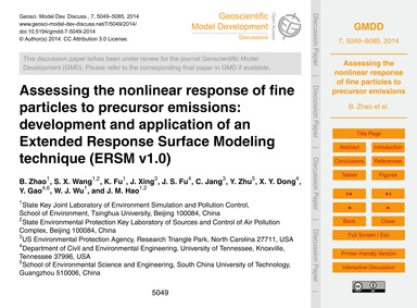 Assessing the Nonlinear Response of Fine... by Zhao, B.