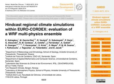 Hindcast Regional Climate Simulations Wi... by Katragkou, E.