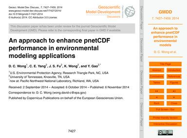An Approach to Enhance Pnetcdf Performan... by Wong, D. C.