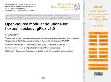 Open-source Modular Solutions for Flexur... by Wickert, A. D.