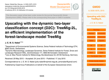 Upscaling with the Dynamic Two-layer Cla... by Nabel, J. E. M. S.