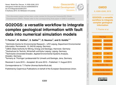 Go2Ogs: a Versatile Workflow to Integrat... by Fischer, T.