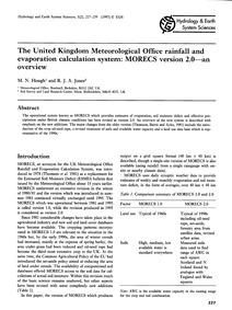 The United Kingdom Meteorological Office... by Hough, M. N.