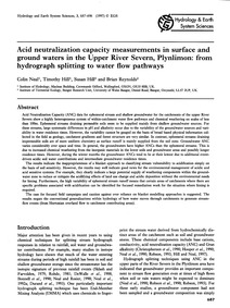 Acid Neutralization Capacity Measurement... by Neal, C.