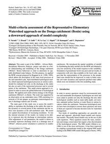 Multi-criteria Assessment of the Represe... by Varado, N.