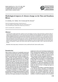 Hydrological Impacts of Climate Change o... by Kils, C. G.