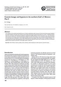 Coastal Change and Hypoxia in the Northe... by Krug, E. C.
