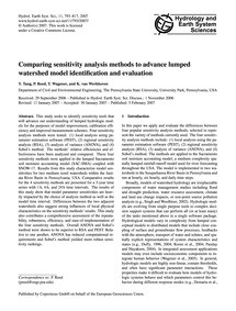 Comparing Sensitivity Analysis Methods t... by Tang, Y.