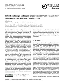 Institutional Design and Regime Effectiv... by Dombrowsky, I.