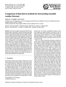 Comparison of Data-driven Methods for Do... by Xiaoli Liu, P.