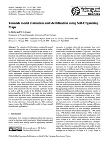 Towards Model Evaluation and Identificat... by Herbst, M.
