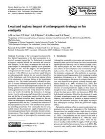 Local and Regional Impact of Anthropogen... by Van Loon, A. H.