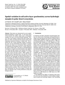 Spatial Variation in Soil Active-layer G... by Barrett, J. E.