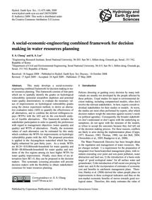 A Social-economic-engineering Combined F... by Chung, E. S.