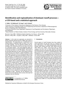 Identification and Regionalization of Do... by Müller, C.