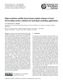 High-resolution Satellite-based Cloud-co... by Forman, B. A.