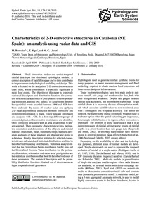 Characteristics of 2-d Convective Struct... by Barnolas, M.