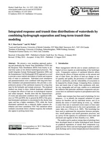 Integrated Response and Transit Time Dis... by Roa-garcía, M. C.