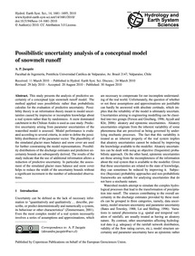 Possibilistic Uncertainty Analysis of a ... by Jacquin, A. P.