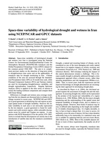 Space-time Variability of Hydrological D... by Raziei, T.