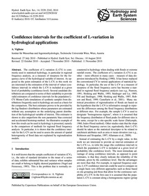 Confidence Intervals for the Coefficient... by Viglione, A.