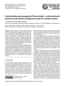 Understanding and Managing the Westersch... by Van Buuren, A.