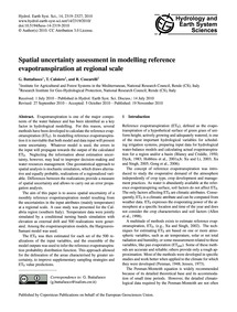 Spatial Uncertainty Assessment in Modell... by Buttafuoco, G.