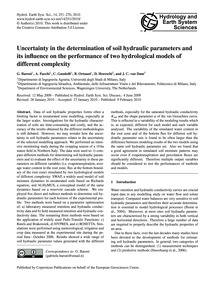 Uncertainty in the Determination of Soil... by Baroni, G.