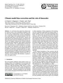 Climate Model Bias Correction and the Ro... by Haerter, J. O.