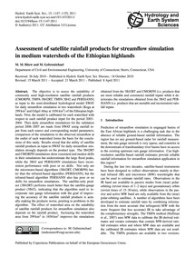 Assessment of Satellite Rainfall Product... by Bitew, M. M.