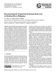 Reconstructing the Tropical Storm Ketsan... by Abon, C. C.