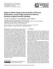 Impact of Climate Change on the Stream F... by Gain, A. K.