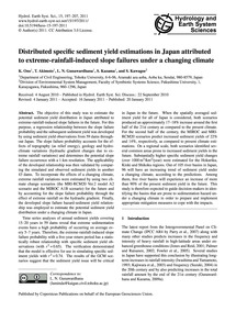 Distributed Specific Sediment Yield Esti... by Ono, K.