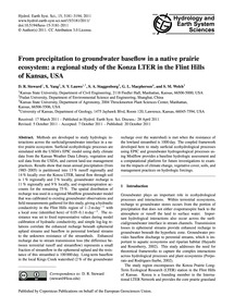 From Precipitation to Groundwater Basefl... by Steward, D. R.