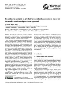 Recent Developments in Predictive Uncert... by Coccia, G.