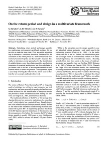 On the Return Period and Design in a Mul... by Salvadori, G.