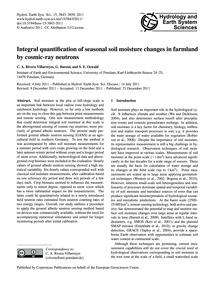 Integral Quantification of Seasonal Soil... by Rivera Villarreyes, C. A.