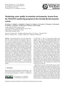Monitoring Water Quality in Estuarine En... by Etcheber, H.