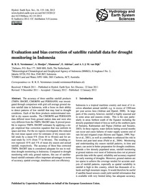 Evaluation and Bias Correction of Satell... by Vernimmen, R. R. E.