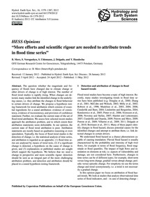 Hess Opinions More Efforts and Scientifi... by Merz, B.